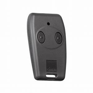 telecommande simu tsa 2 canaux porte de garage With telecommande porte de garage novoferm