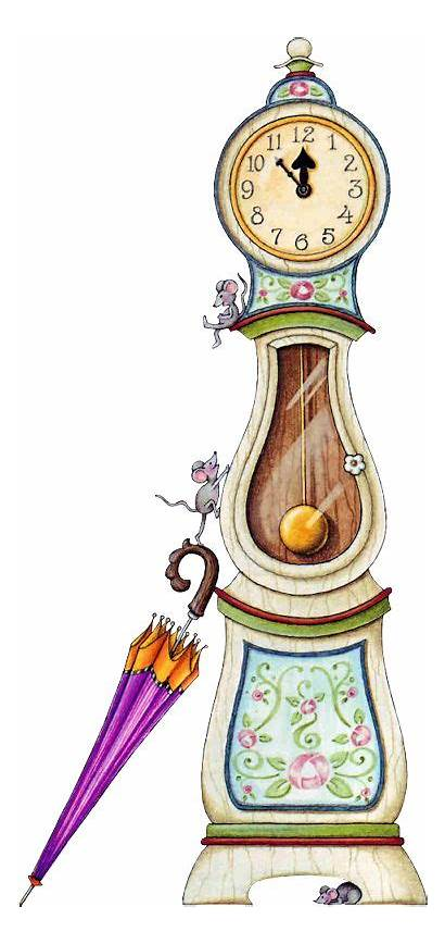 Clipart Tubes Clock Dock Tube Clip Grandfather