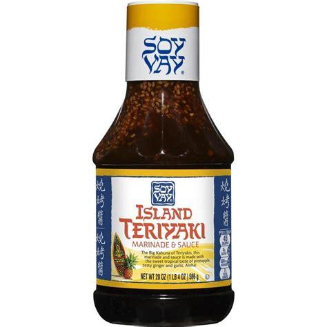 kitchen island mobile shop soy vay 20 oz island teriyaki marinade sauce at lowes com