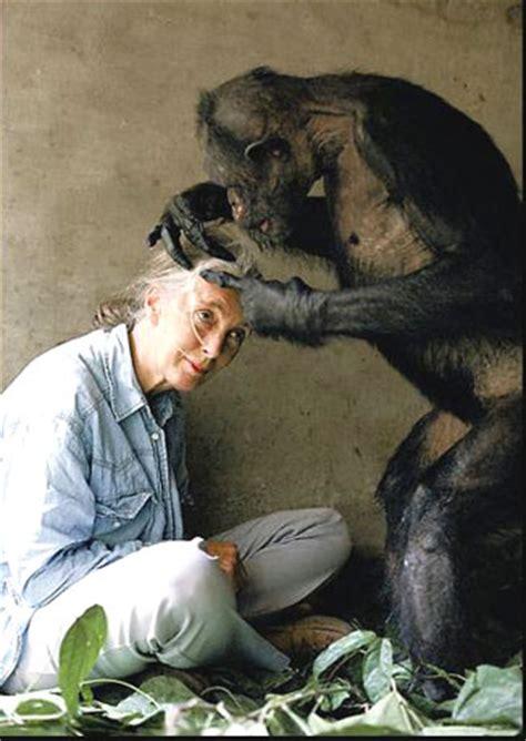 la ciencia de la vida goodall la mujer mono