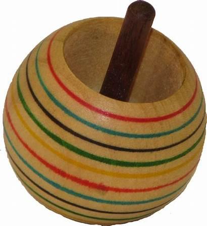 Tippy Toy Wood Tops Poplar Aswoodturns Flip