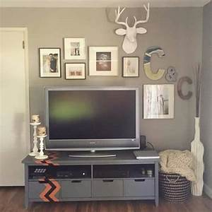 Best above tv decor ideas on wall