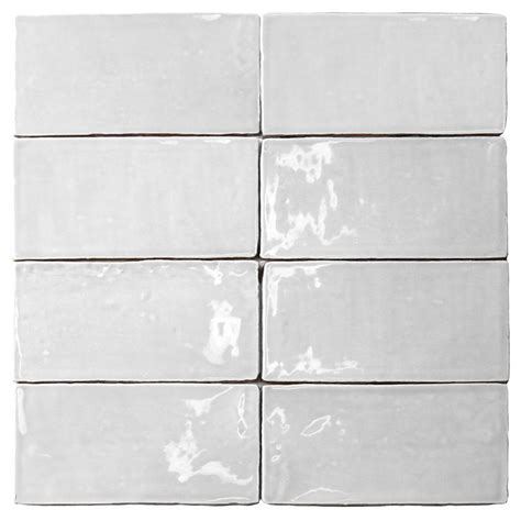 splashback tile catalina white        mm