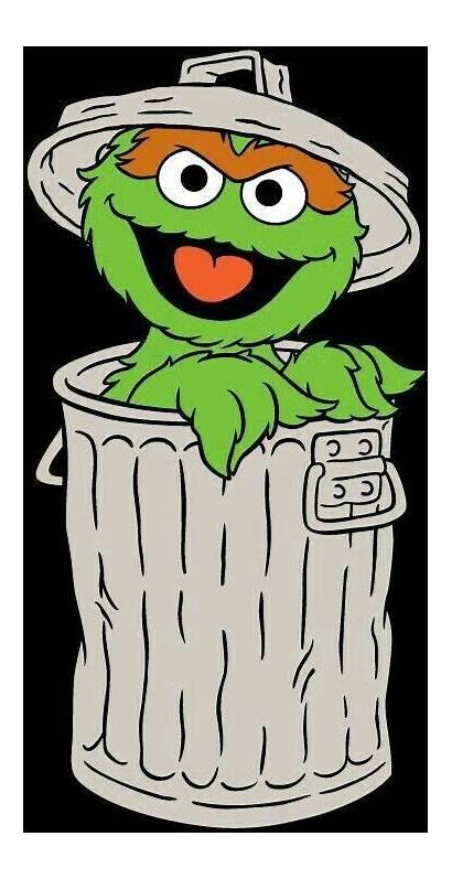 Clipart Birthday Oscar Grouch Elmo Irvine Sesame