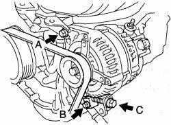 repair guides charging system alternator autozonecom With 2008 toyota highlander belt diagram on 4 0 sohc engine diagram intake