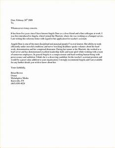 5 sample personal reference letter for a friend loan With personal letter