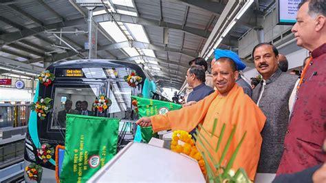 Noida-Greater Noida Metro: Over 11 k passengers use Aqua ...