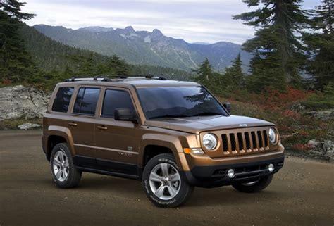 dark green jeep patriot 2011 jeep anniversary editions the jeep blog