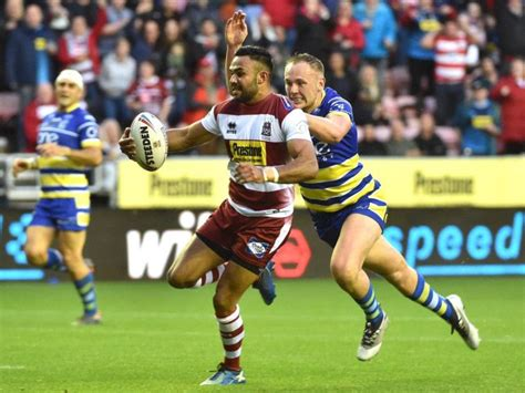 Adrian Lam reveals Wigan Warriors' 19-man squad - but what ...