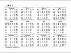 May 2016 Calendar – 2017 printable calendar