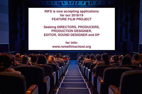 RIFS' FEATURE FILM PROGRAM - RIFS