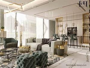 Luxury, Modern, Apartment, Interior, Design, In, Dubai