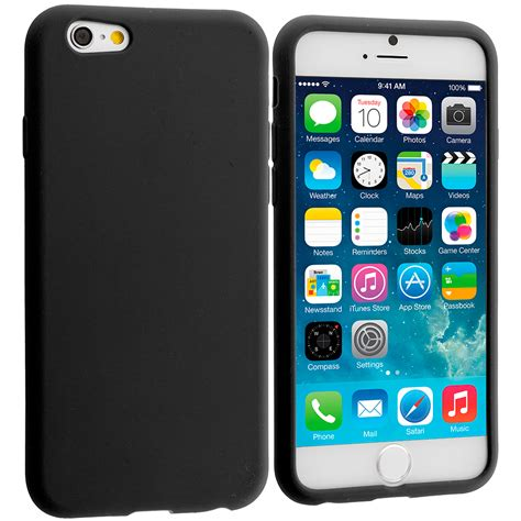 covers for iphone 6 plus for apple iphone 6 plus 5 5 silicone rubber soft skin
