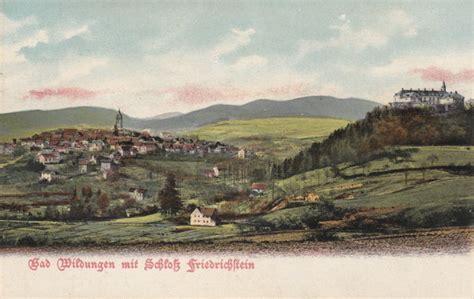 historische fotos waldeck frankenberg bad wildungen mit schlo 223 friedrichstein 1903 bad