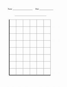free worksheets blank graph grid free math worksheets With block graph template