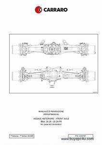 Carraro Front Axle For Agrotron 150