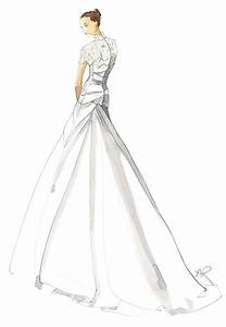 bridal wedding sketch 2 angie rehe fashion With wedding dress sketches