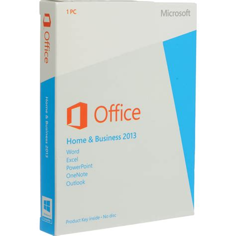 microsoft office home business 2013 for windows product