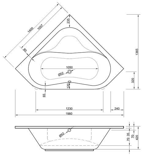 Maße Badewanne Standard by Wobaki Design 160 X 70 X 40 Cm Kaufen Avec