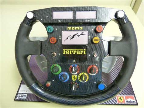 ferrari  momo replica  steering wheel steering