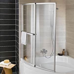 Joint D Étanchéité Pare Baignoire : ecran de baignoire courbe ola salle de bains ~ Melissatoandfro.com Idées de Décoration