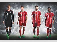Nueva camiseta Bayern Múnich 201718 Mi Bundesliga