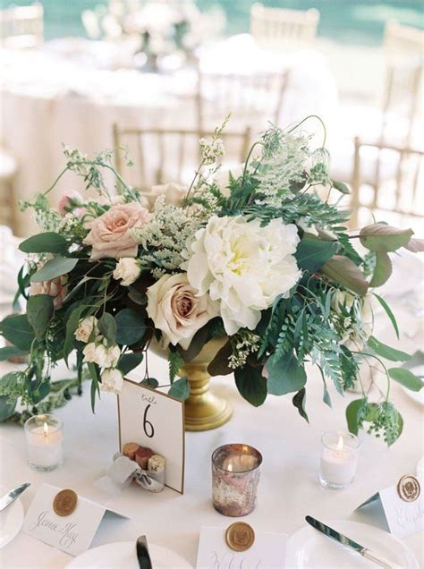 37 Romantic Greenery Wedding Centerpieces for 2019 Page 2
