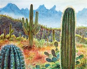 Desert Beauty Painting by Frank Robert Dixon