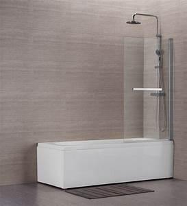 Paroi Douche Baignoire : pare bain concerto 1 pivotant 180 envie de salle de bain ~ Farleysfitness.com Idées de Décoration