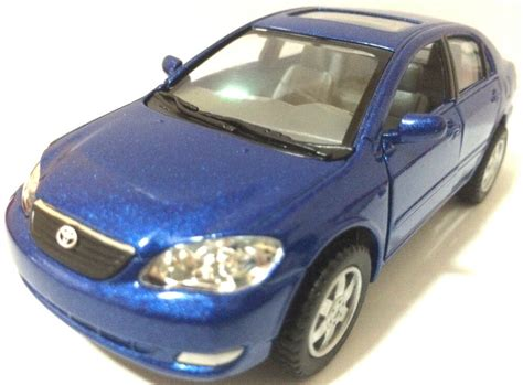 36 Scale Toyota Corolla Diecast Model Car Pull