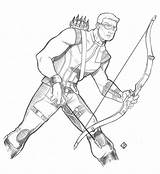 Hawkeye Coloring Pages Ages Printable Educative sketch template