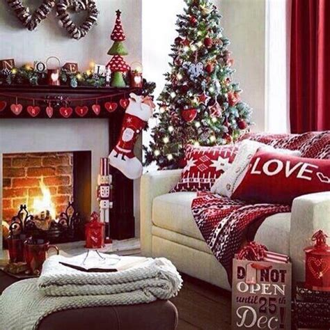 christmas living room decorations pictures