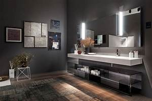 emejing meuble salle de bain design contemporain gallery With meuble salle de bain design contemporain