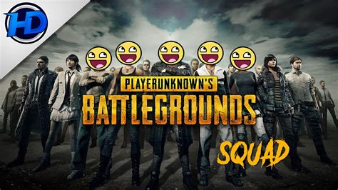 Player Unknown Battlegrounds -squad 4 Man-