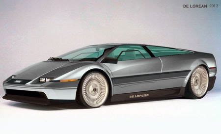 concept delorean wheels concept cars  delorean