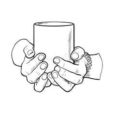Feel free to explore, study and enjoy paintings with paintingvalley.com. Holding cup mug glass drink hand reference beverage | Art in 2019 | Drawings, How to draw hands ...