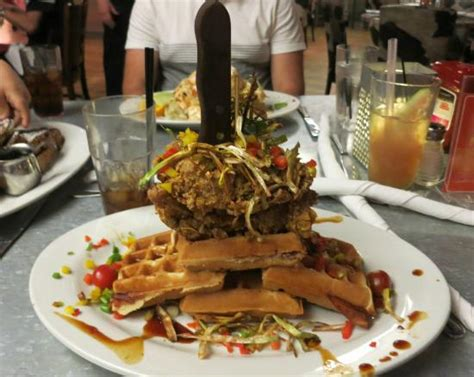 Hash House A Go Go - fried chicken and waffles picture of hash house a