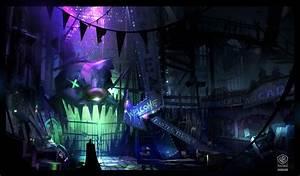 Batman: Arkham Origins Concept Art by Virgile Loth ...