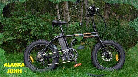 Radmini Folding Electric Fat Tire Bicycle