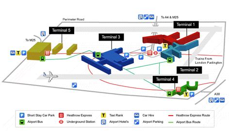 heathrow airport map my