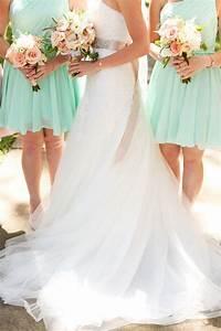 Mint wedding mint green weddings 2022858 weddbook for Mint dresses for wedding