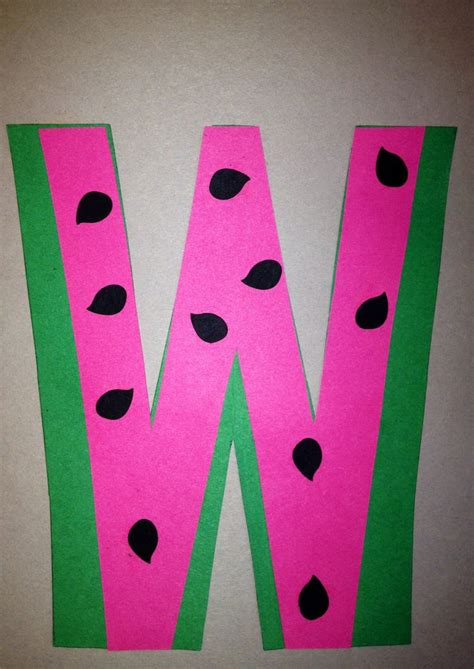preschool letter w craft preschool letter crafts