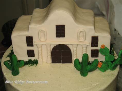 alamo cake blue ridge buttercream