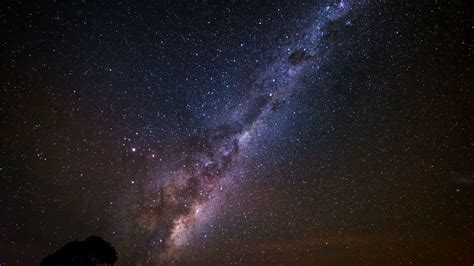 Time Lapse The Milky Way With Earth Rotation