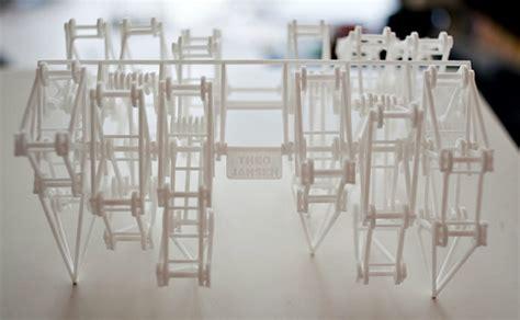 theo jansen debuts  printed miniature walking