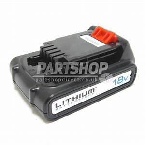 Batterie Black Et Decker 18v : black decker battery 18v bl1518 90558999 part ~ Dailycaller-alerts.com Idées de Décoration