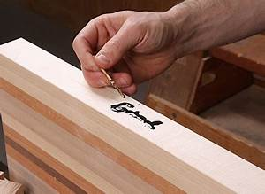 Add an Inlaid Signature to Your Work - FineWoodworking