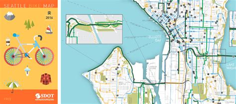 Seattle mountain bike, hike, trail running trails, washington. SDOT refreshes the Seattle Bike Map   Cascade Bicycle Club
