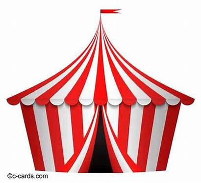 Circus Tent Vector Illustration Birthday German Clip