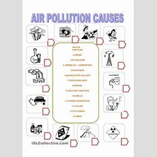 Air Pollution Worksheets